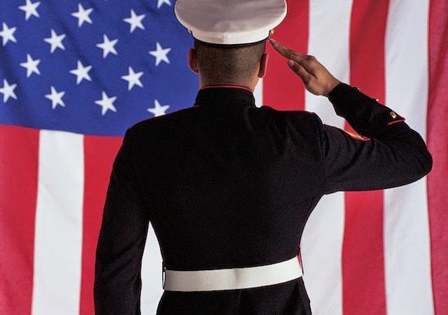 saluting-flag