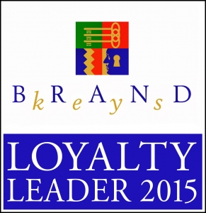 Brand Keys 2015 Loyalty Leaders logo