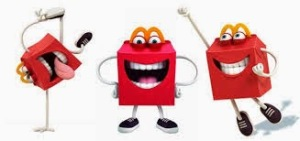 happy meal mascot